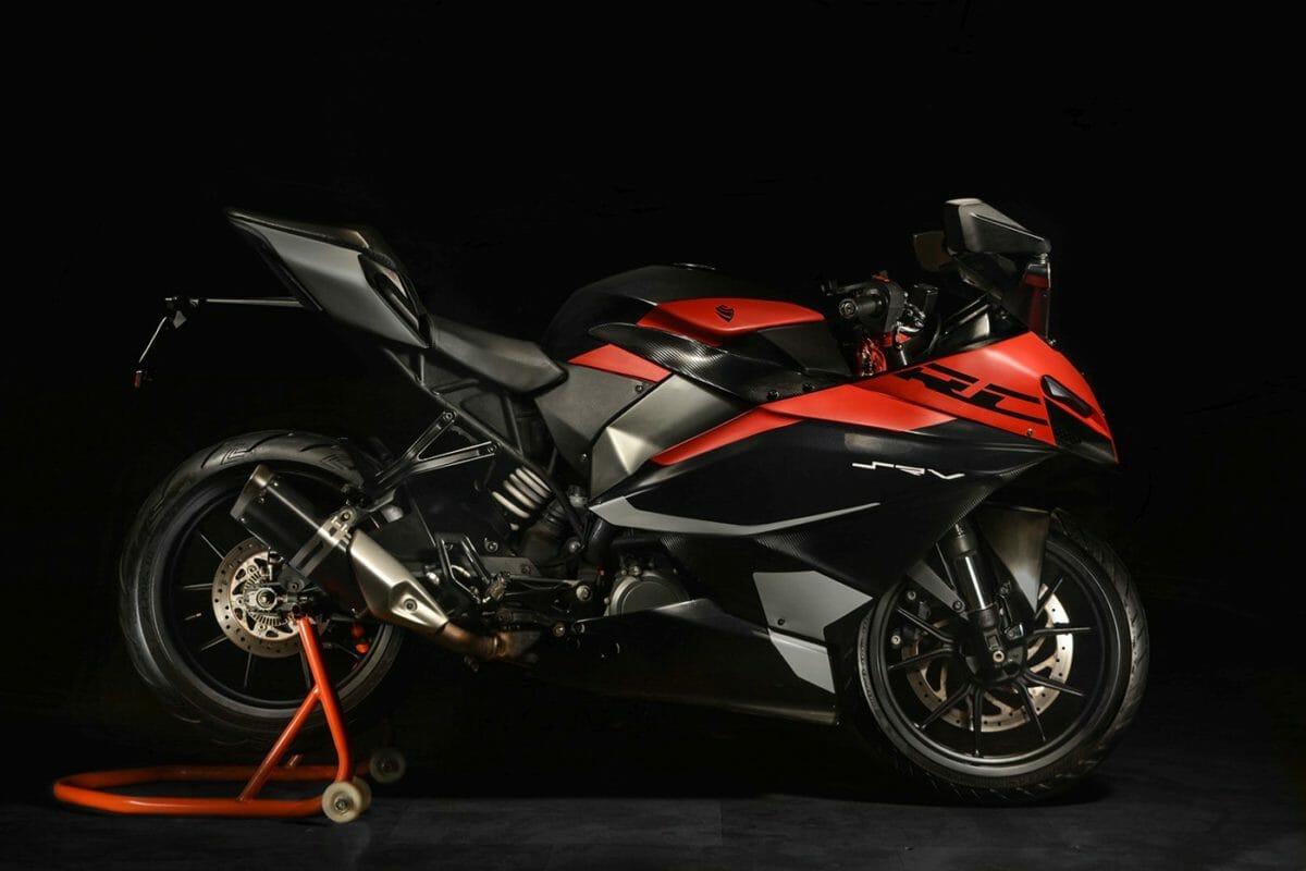 Sauvrav Verma KTM RC 390 Project (3)