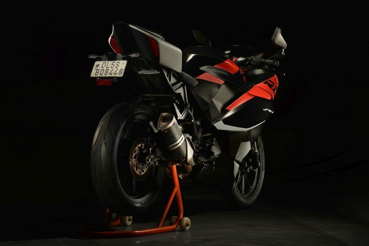 Sauvrav Verma KTM RC 390 Project (6)