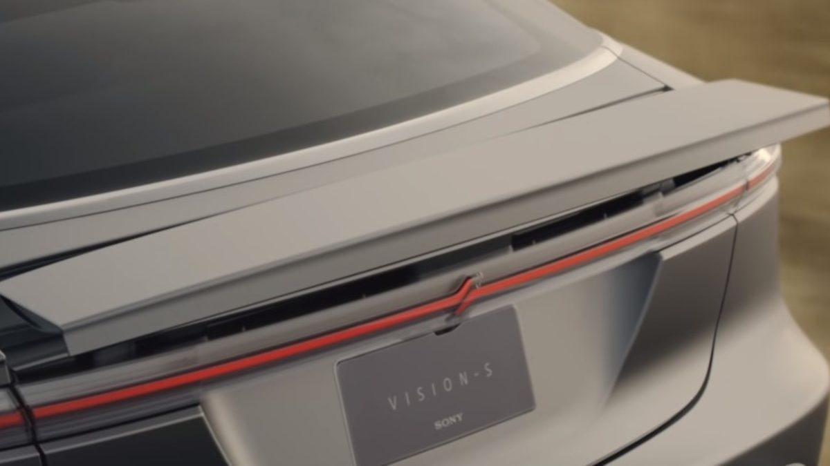 Sony Electric Car Vision S Concept (3)