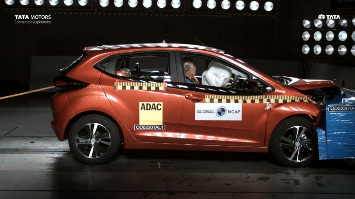 Tata Altorz Global NCAP front impact