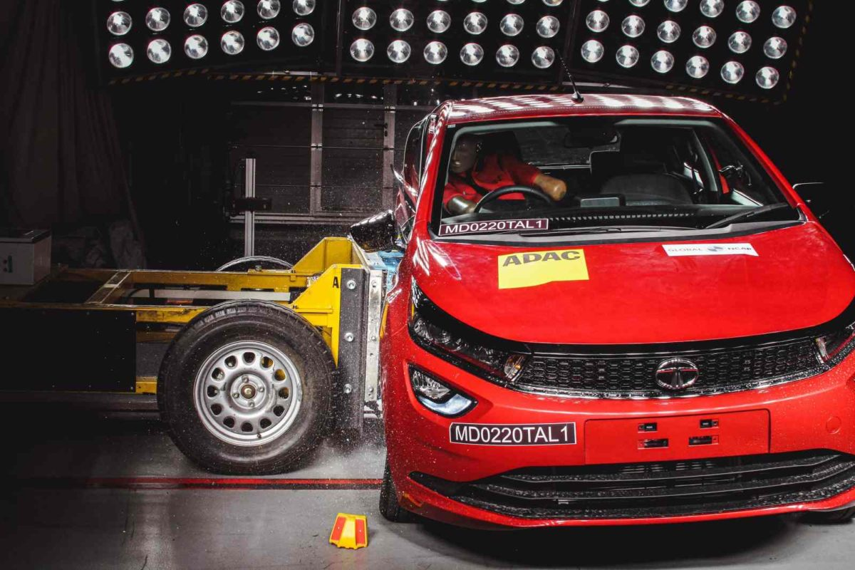 Tata Altorz Global NCAP side impact