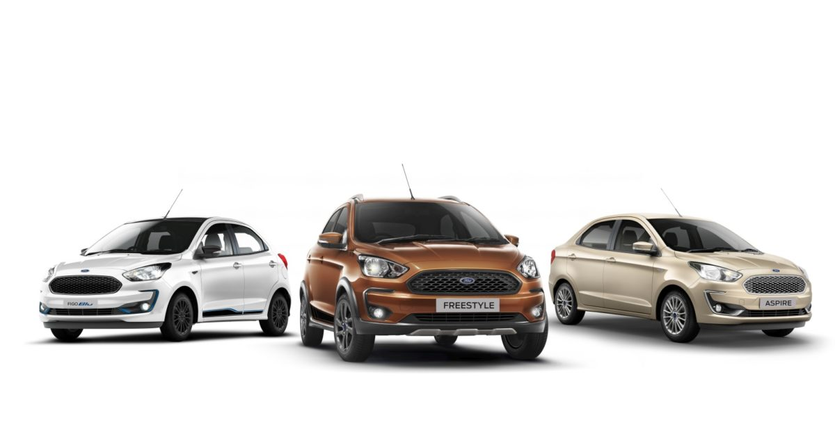 2020 Ford Figo, Aspire and Freestyle BS6