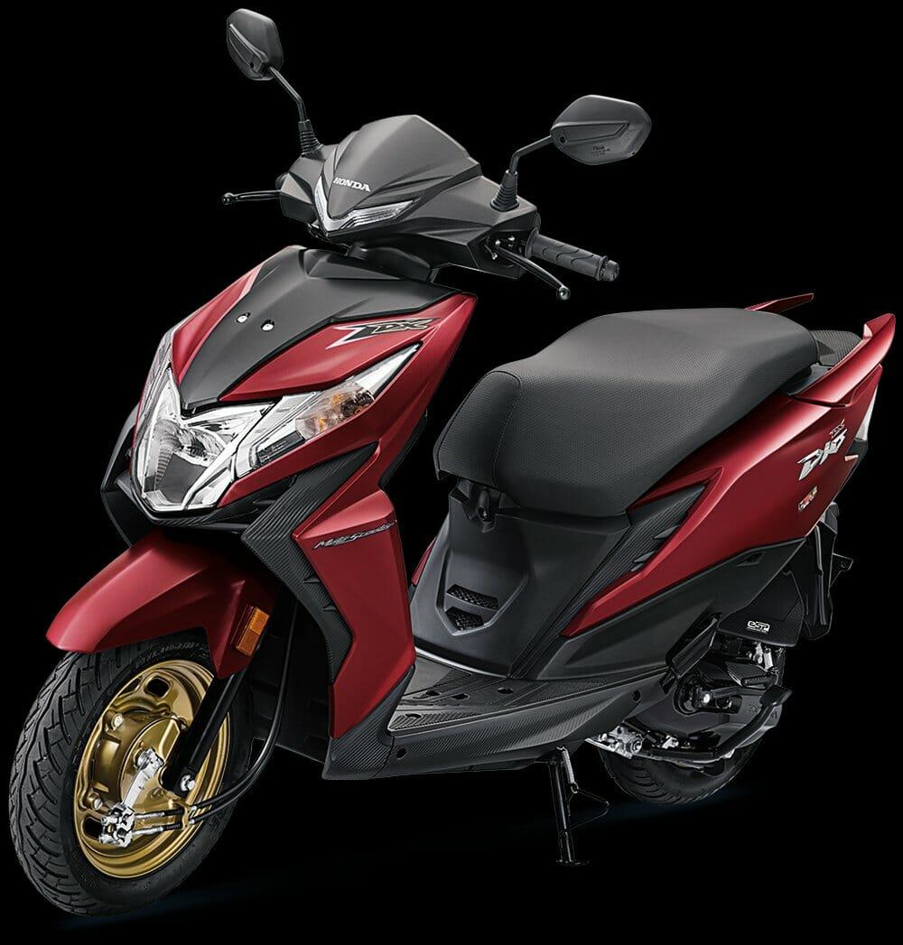 2020 Honda Dio DeluxeRed