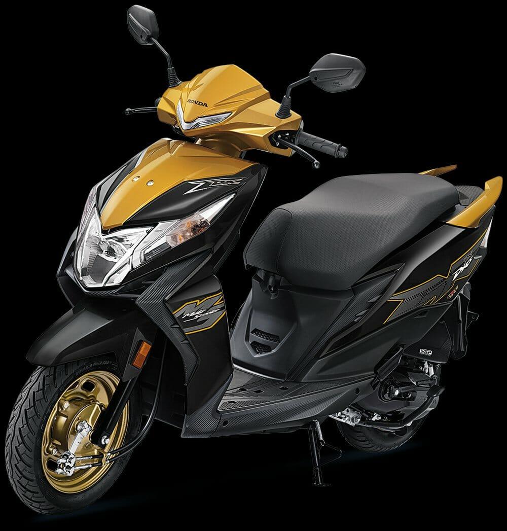 2020 Honda Dio DeluxeYellow