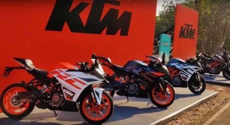 The New 2020 KTM RC BS6 Range On Video