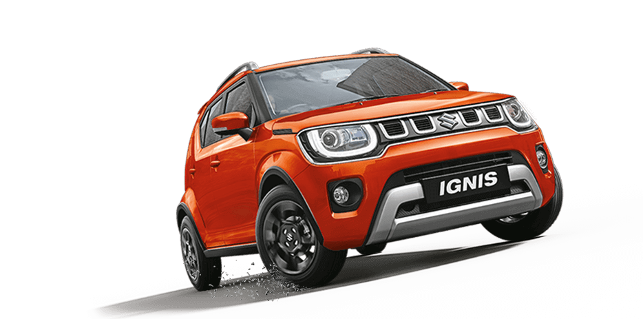 2020 Maruti Suzuki Ignis Orange