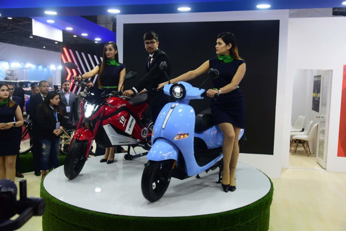 EeVe India e bike 'Tesero' and Forseti Auto Expo 2020