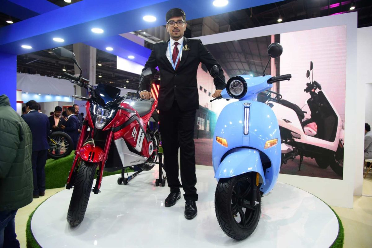 EeVe India e bike 'Tesero' and e scooter Forseti