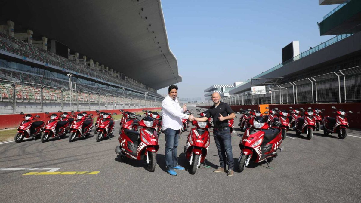 Hero Motocorp Scooters At BIC (2)
