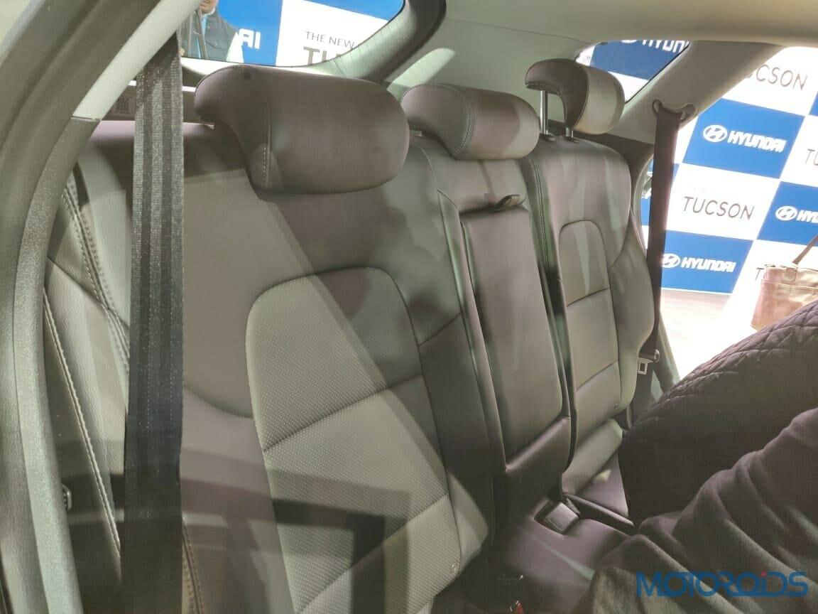 Hyundai Tucson 2020 Back Seats