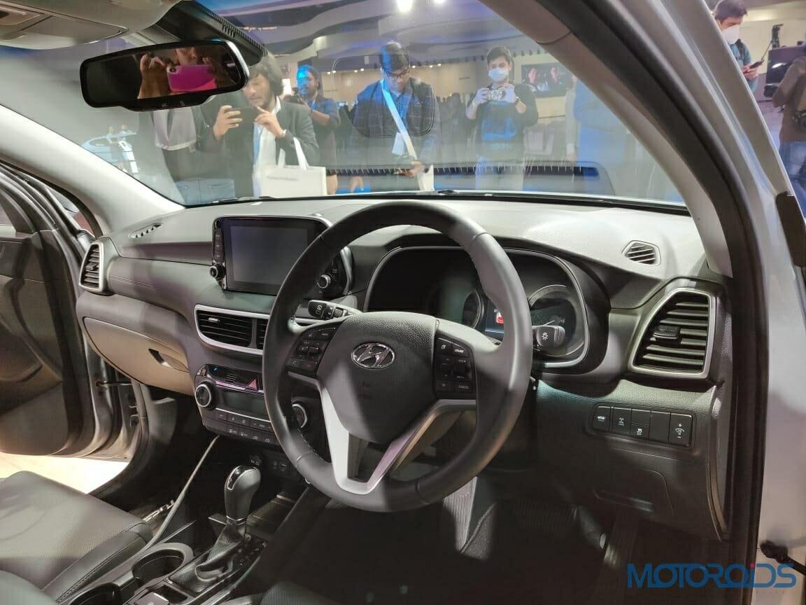 Hyundai Tucson 2020 Dashboard
