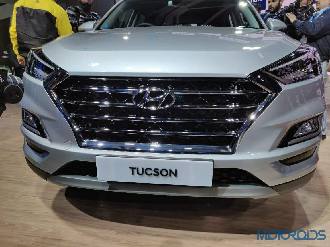 Hyundai Tucson 2020 Front Grille