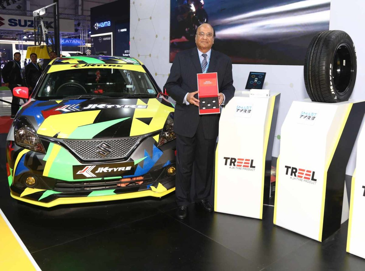 JK Tyres At The Auto Expo 2020 (1)