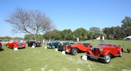 MG showcases its heritage and legacy by connecting with its classic car owners at 21 Gun Salute Rall
