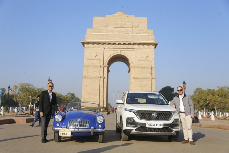 MG showcases its heritage and legacy by connecting with its classic car owners at 21 Gun Salute Rally