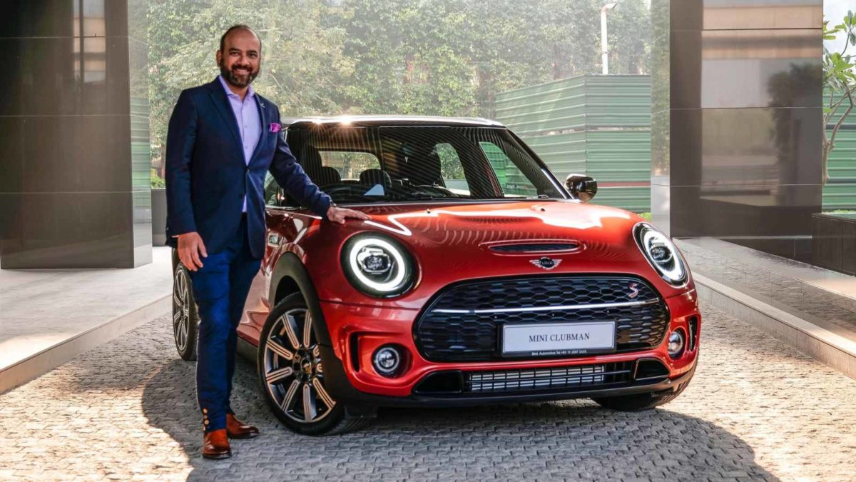 Mini Clubman Indian Red Summer Edition