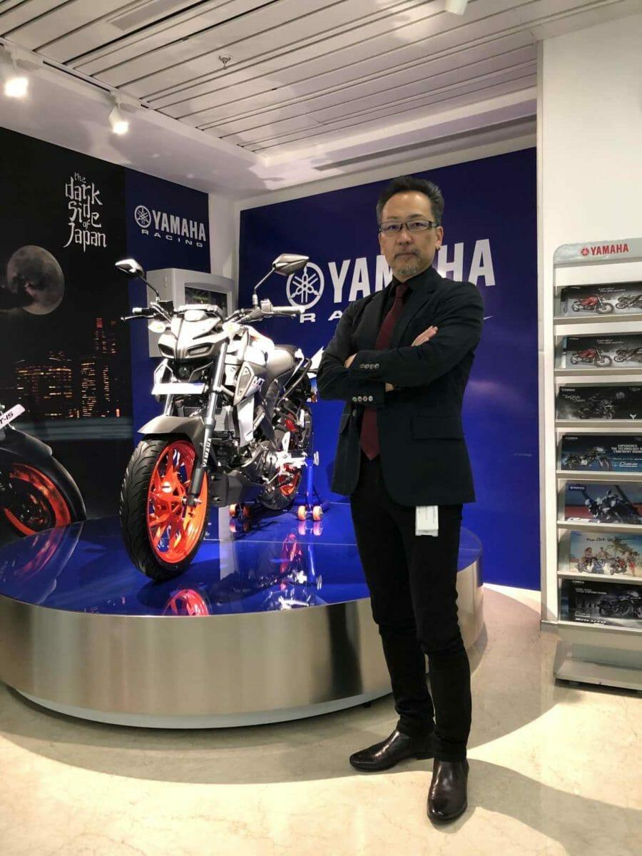 Mr Hideki Fujiwara Yamaha India Research Wing Managing Director