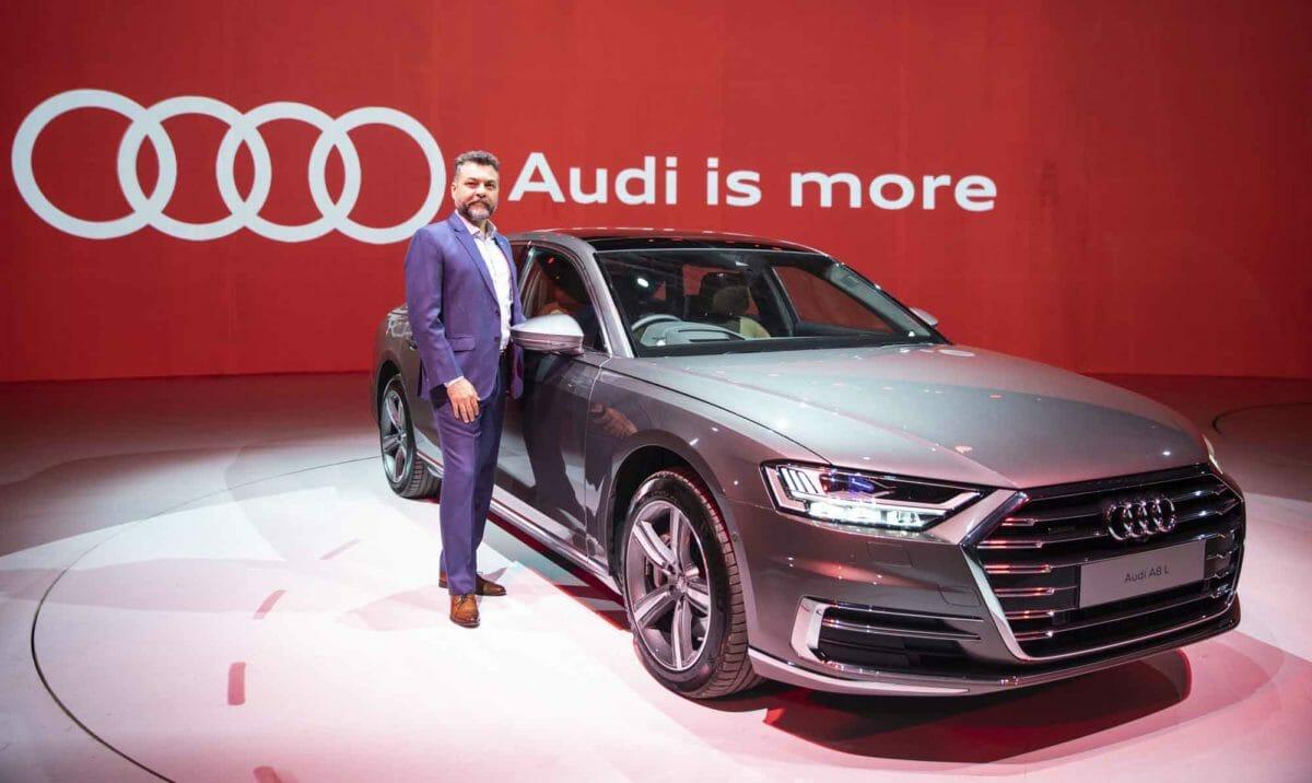 Mr. Balbir Singh Dhillon, Head of Audi India at the Launch of Audi A8 L (3) (1)