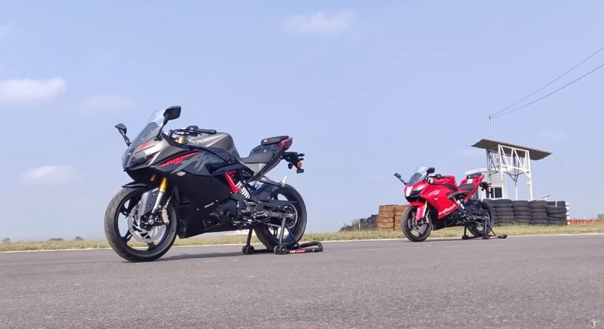 TVS Apache RR310 BS6 Red and Black