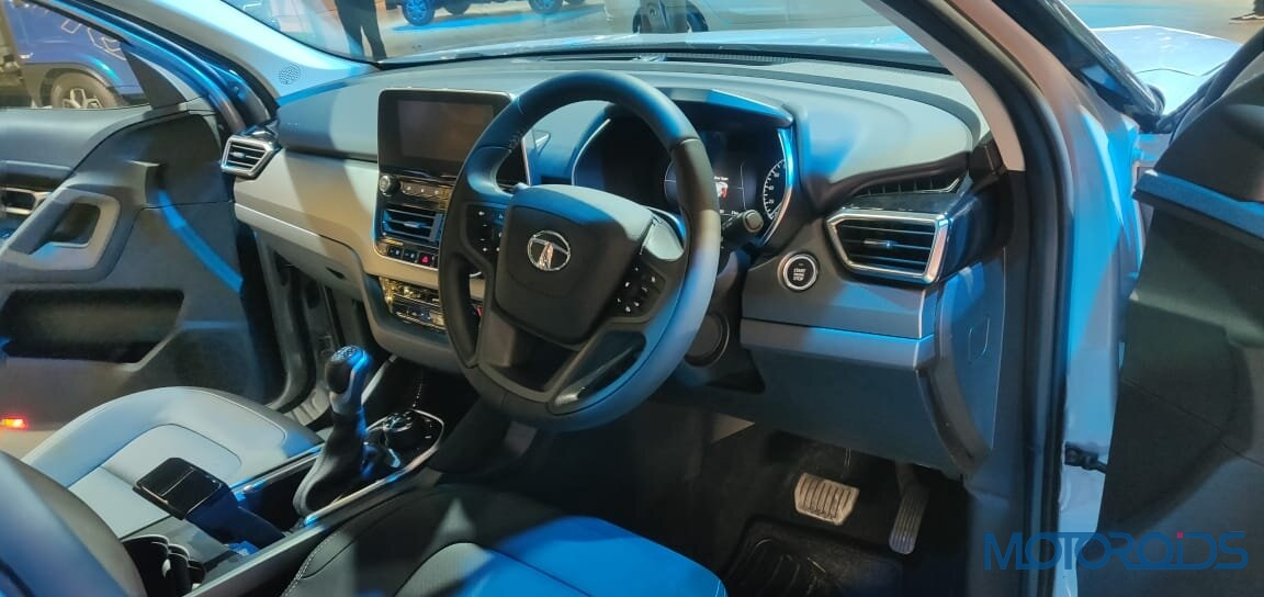 Tata Harrier Steering