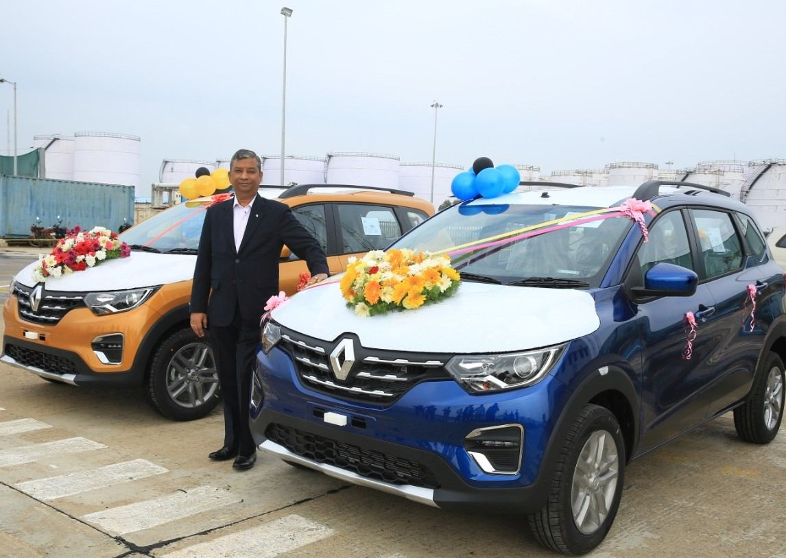 Venkatram Mamillapalle, Country CEO & Managing Director, Renault India Operations