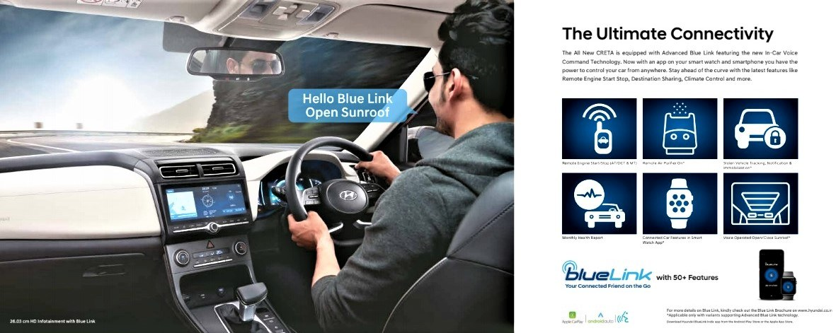 2020 Hyundai Creta Blue Link Features