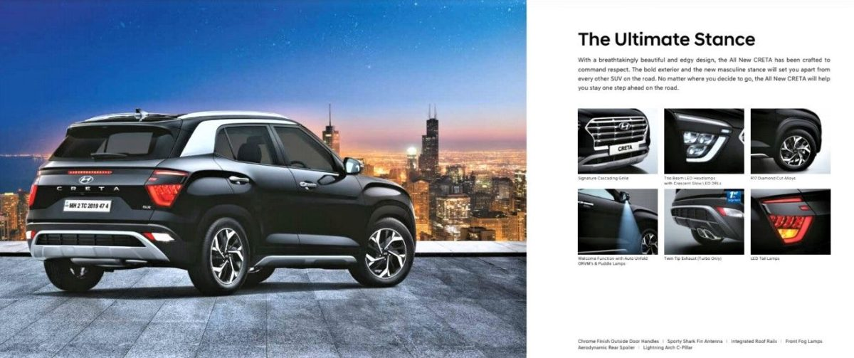 2020 Hyundai Creta Main Features Exterior
