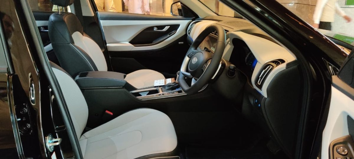 2020 Hyundai Creta cabin