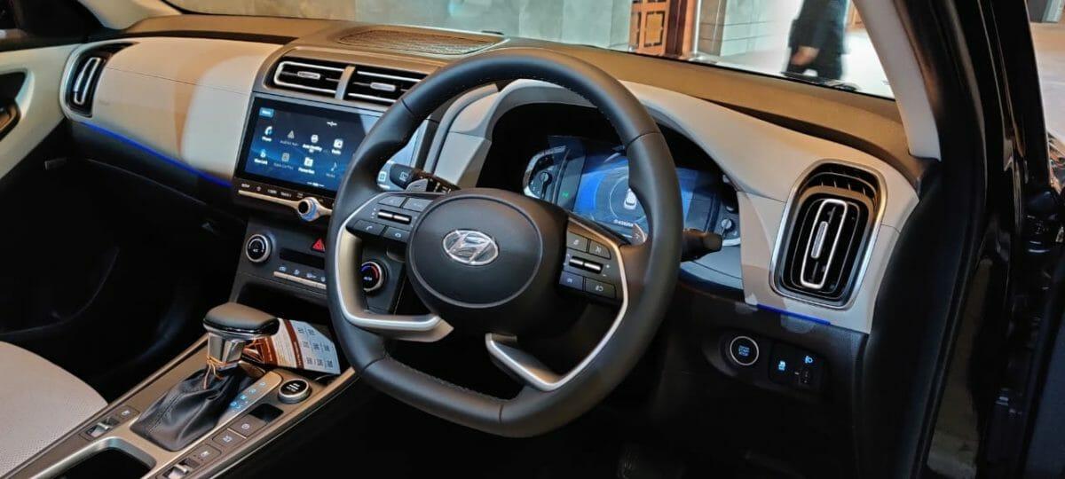 2020 Hyundai Creta cabin view