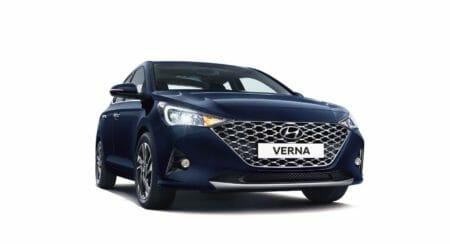2020 Hyundai Verna Front (1)
