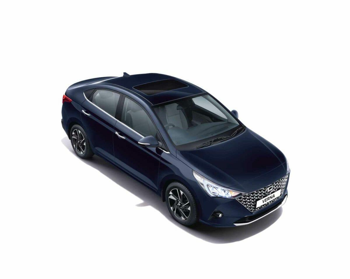 2020 Hyundai Verna Top