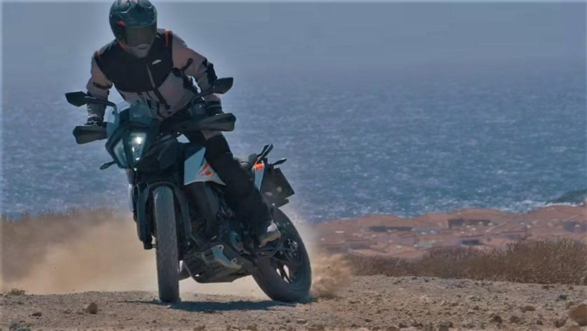KTM 390 Adventure TV Commercial