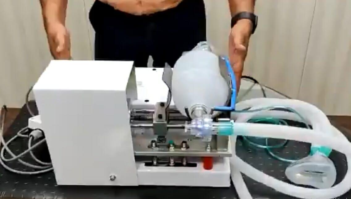 Mahindra ventilator