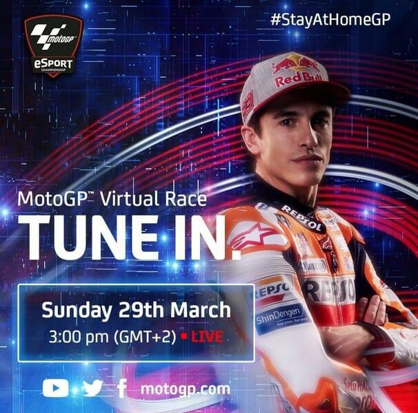 Moto GP Virtual race