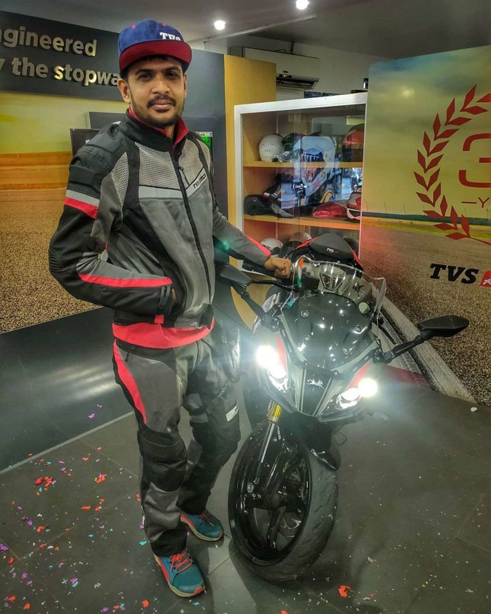 TVS APache RR 310 Gifted To Mallu Traveller