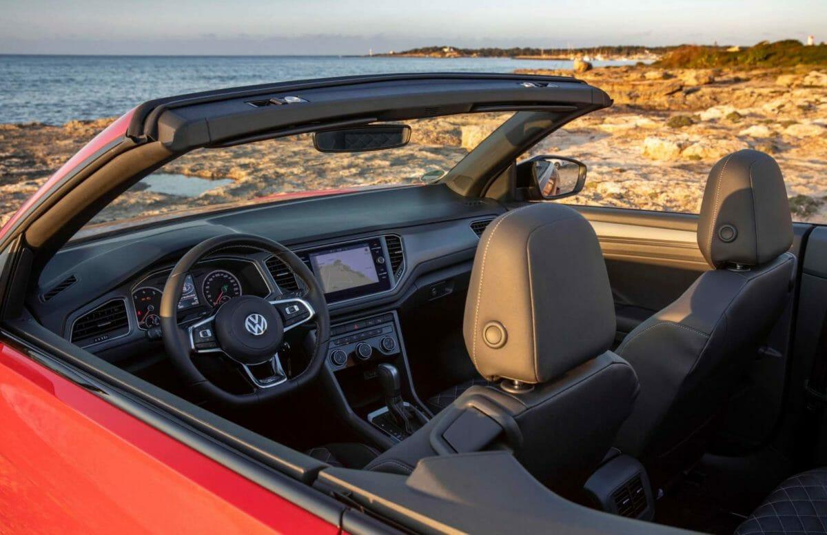 Volkswagen T ROC Cabriolet Cabin