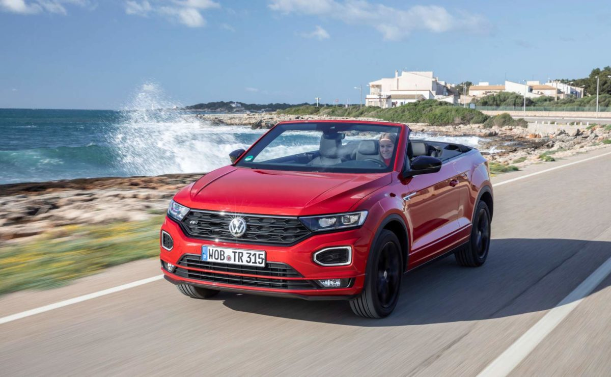 The Volkswagen T Roc Cabriolet Is The One We Wish Was Coming To India Next Week Motoroids