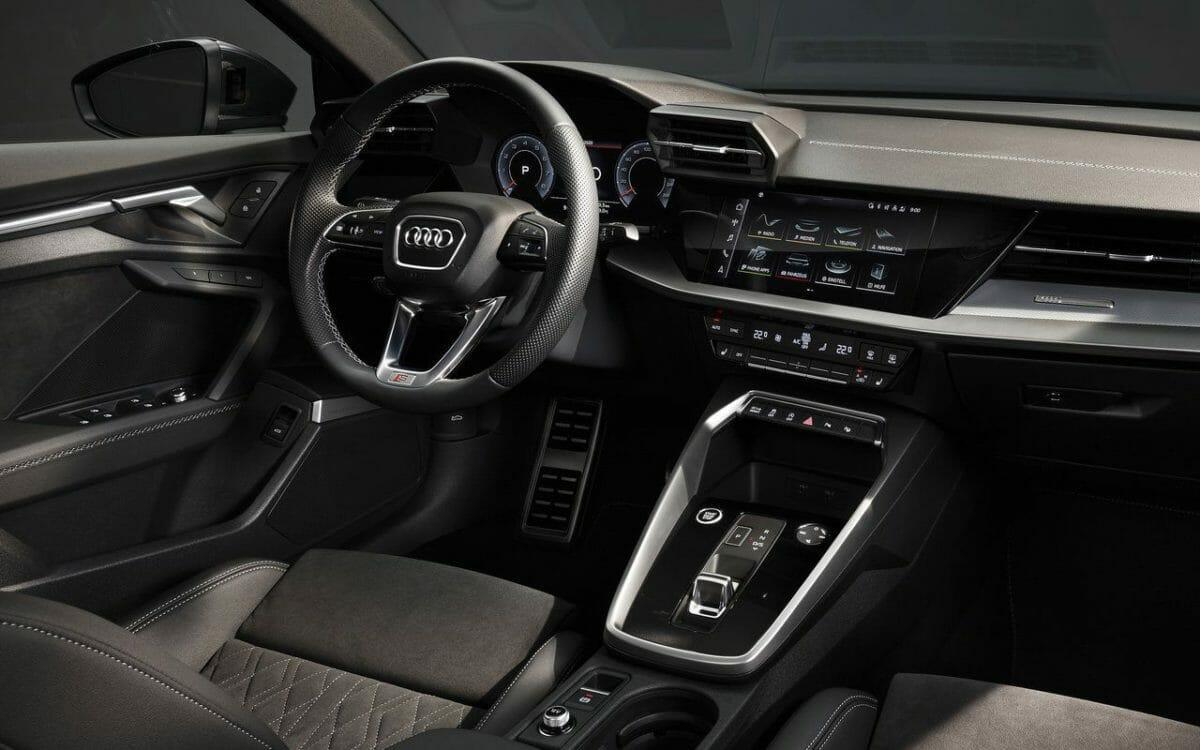 2021 Audi A3 sedan interiors (1)