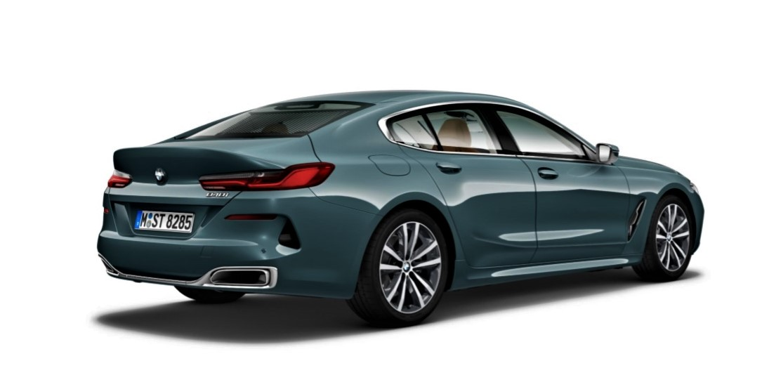 BMW 840i Gran Coupe Rear