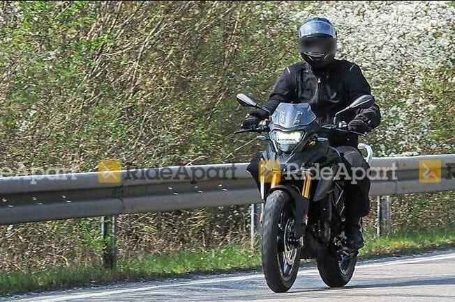 BMW G 310 GS spied testing