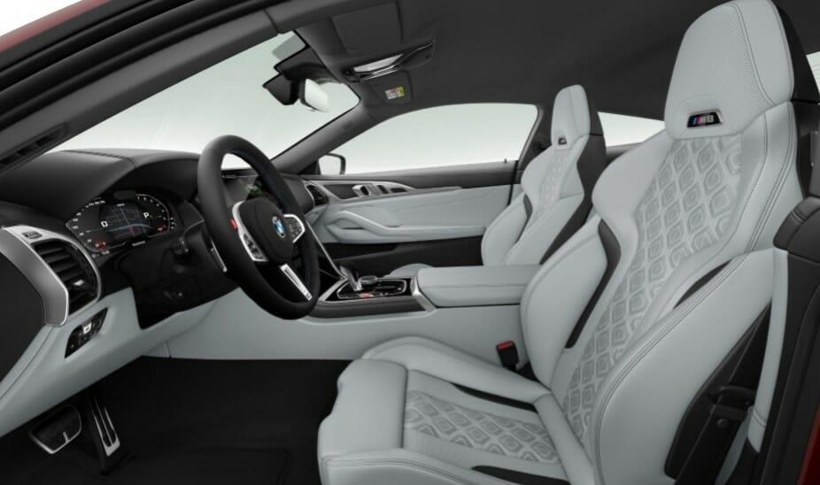 BMW M8 India interiors