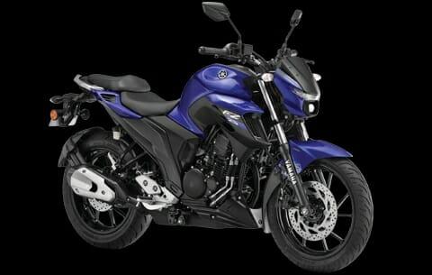 BS6 Yamaha FZ25 racing Blue