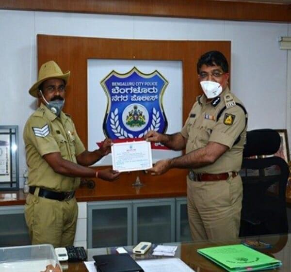Bengaluru Police official 1