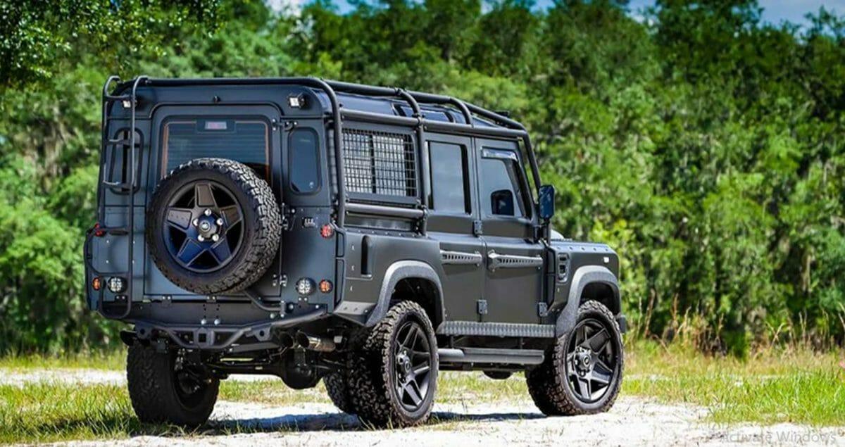 Electric Land Rover Defender 1