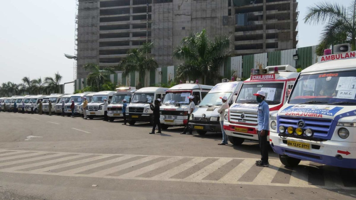 Force Motors 'Mobile Dispensary'