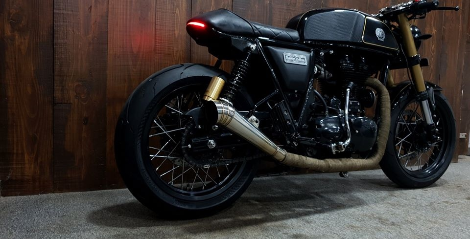 Modified Royal Enfield Continental GT 535 (1)