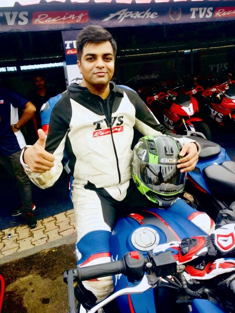 TVS Racing Media Race Kari Speedway