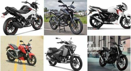 150_160 cc BS6 bikes