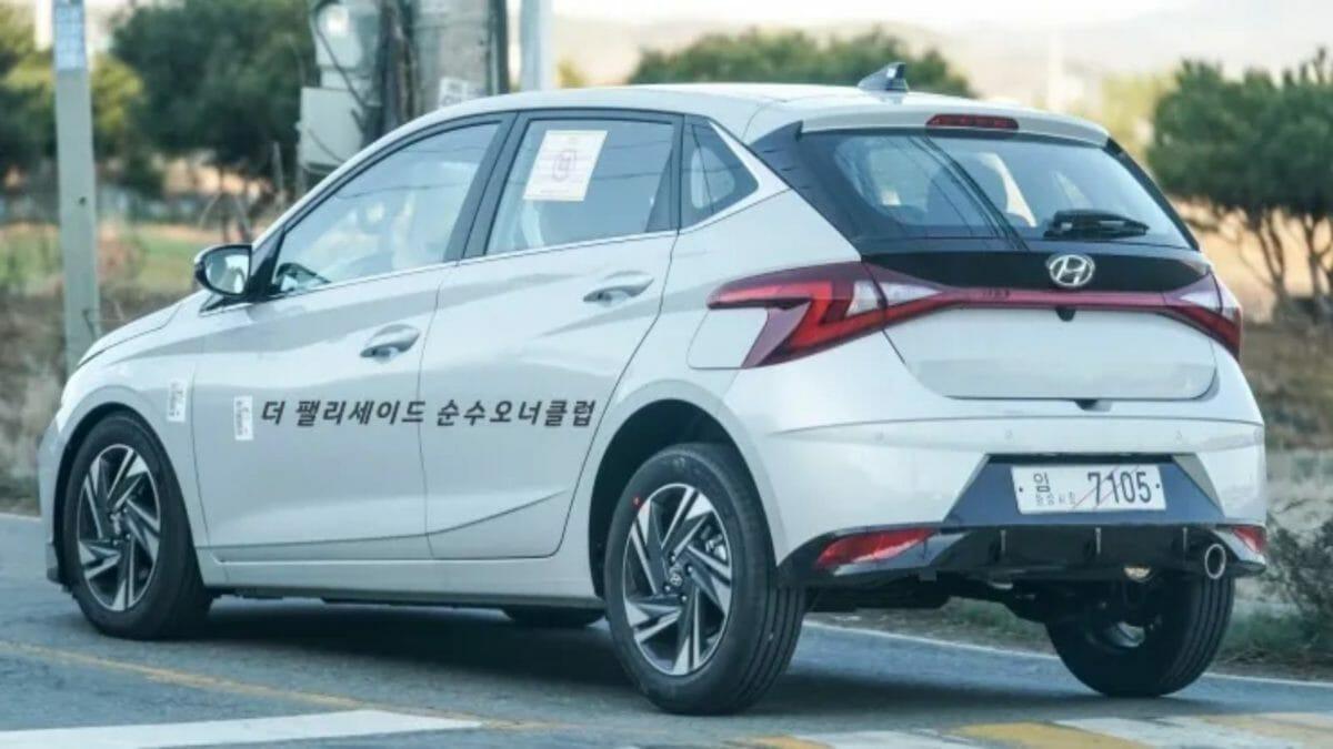 2020 Hyundai i20 Spied 1