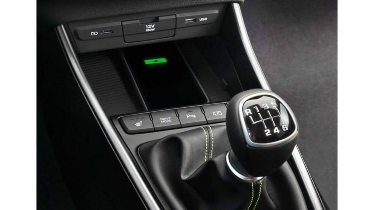 2020 Hyundai i20 wireless charging (1)